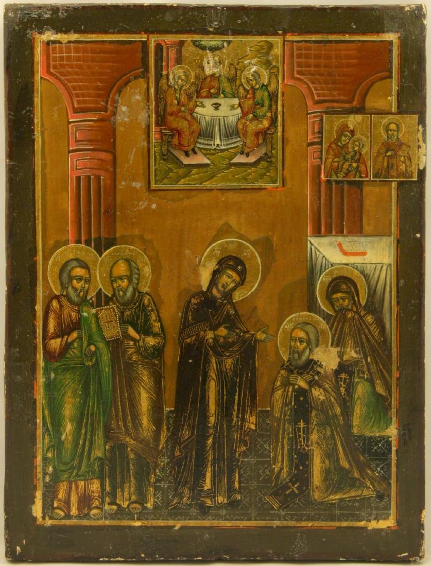 Appearance of the mother of God to the Venerable Sergiy - 2