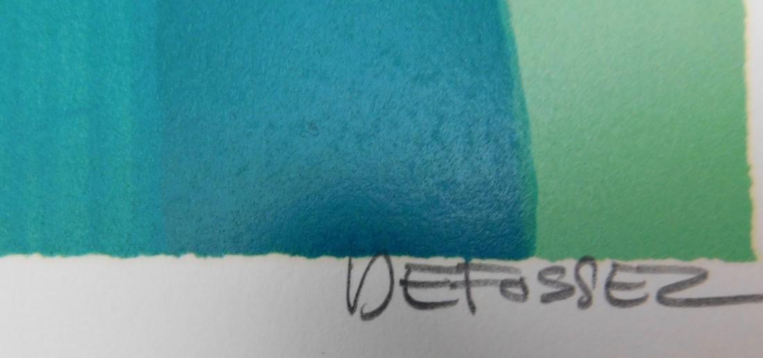 Freddy Defossez -Vase mauve - 8