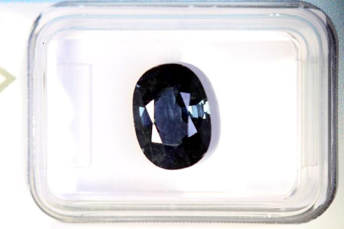 IGI Sealed - Blue Green Zircon - 3.14 ct