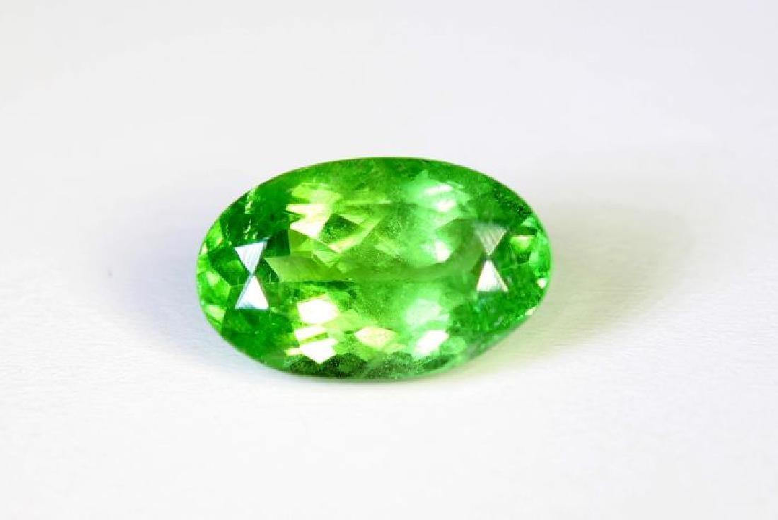 IGI Certified - Green Tsavorite - 2.02 ct