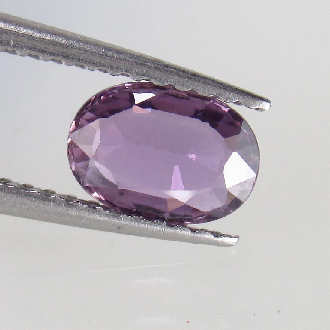 0.85 Ct Genuine Ceylon Violet Sapphire Nice Oval cut