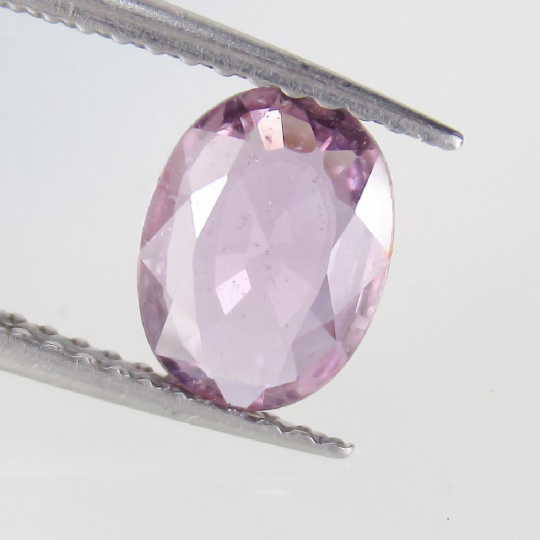 1.09 Ct Genuine Ceylon Violet Sapphire 8X6 mm Oval cut