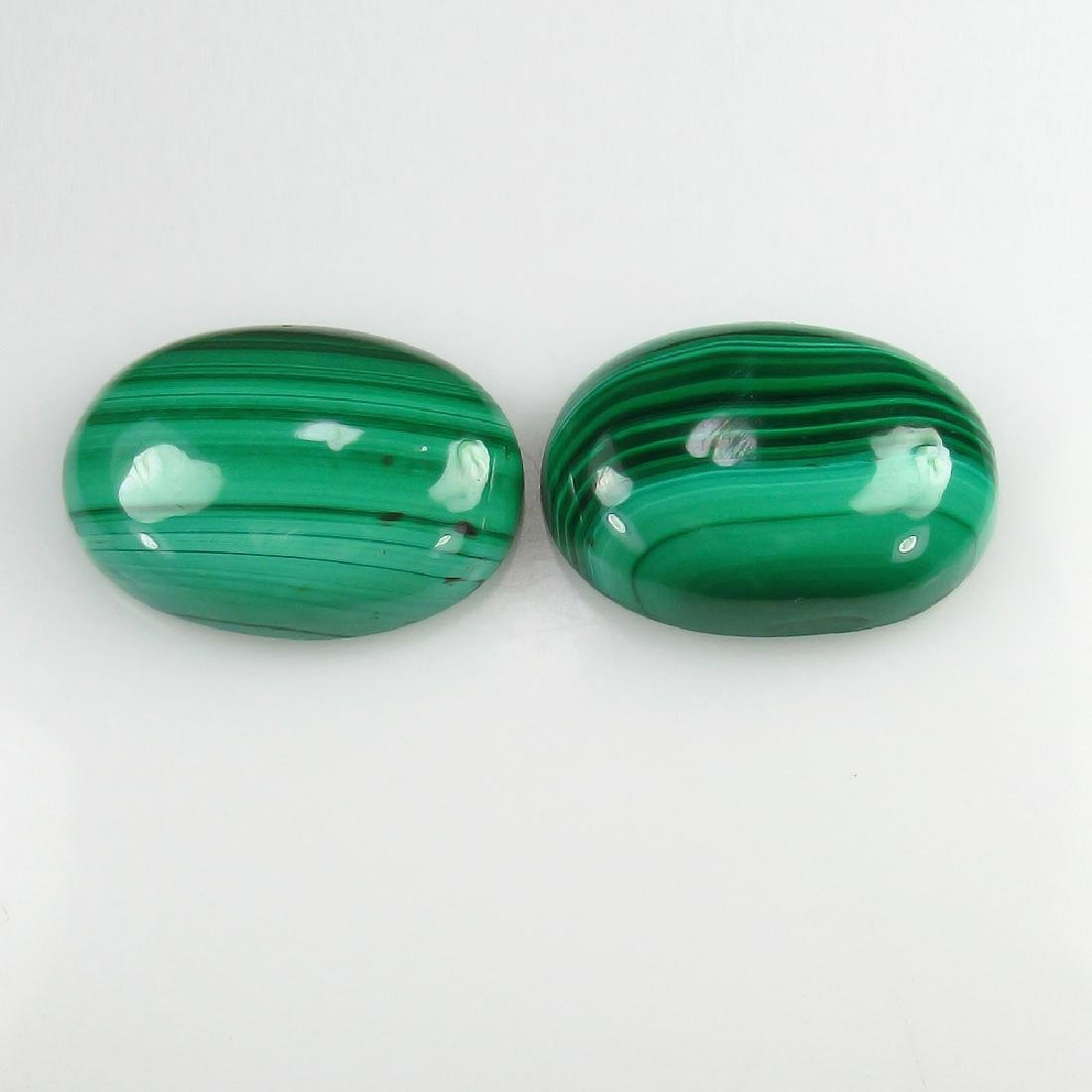 27.30 Ct Genuine Loose Malachite 18X13 mm Oval Matching