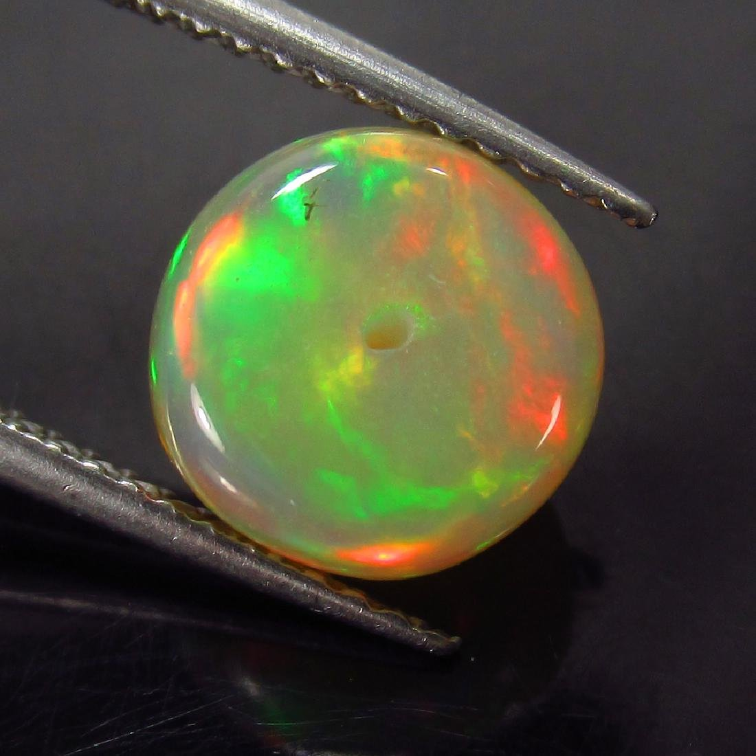 1.99 Ct Genuine Loose Drilled Multi-Color Fire 8.5 mm