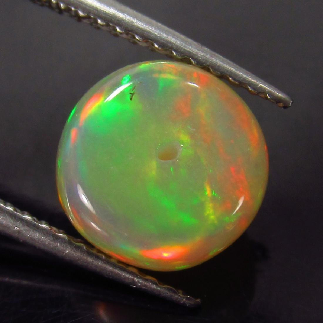 1.99 Ct Genuine Loose Drilled Multi-Color Fire 8.5 mm - 2