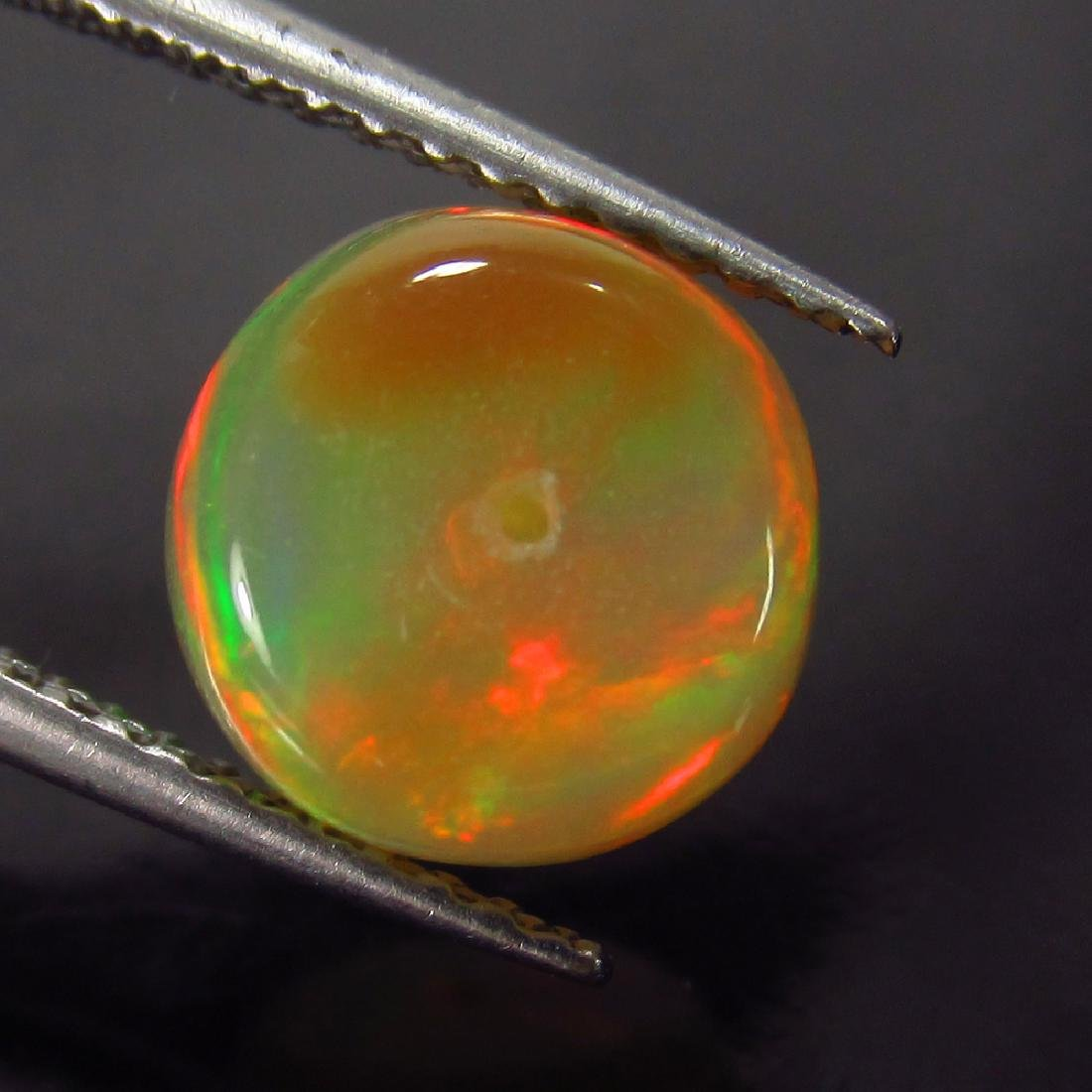 1.99 Ct Genuine Loose Drilled Multi-Color Fire 8.5 mm - 3