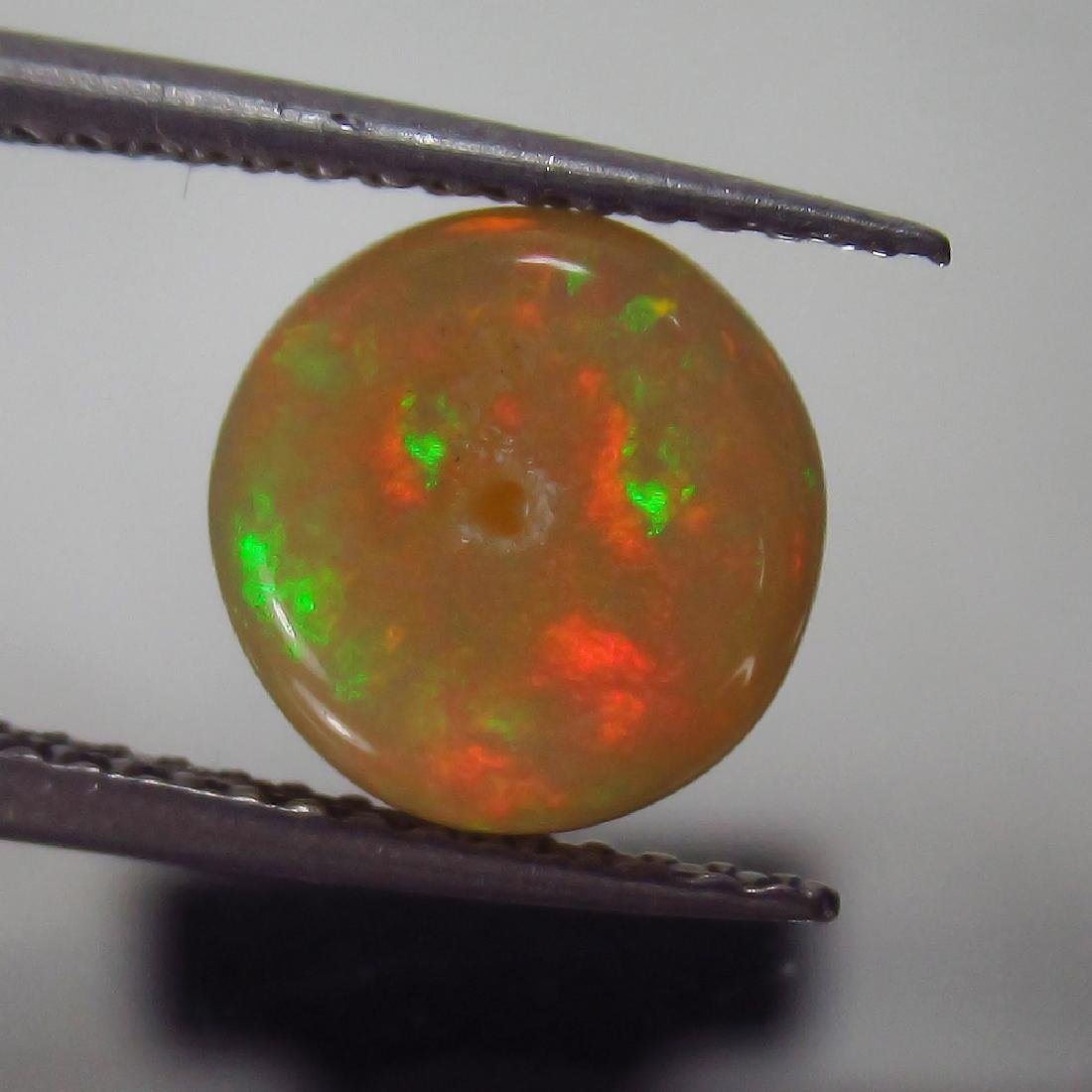 1.60 Ct Genuine Loose Drilled Multi-Color Fire 8.3 mm