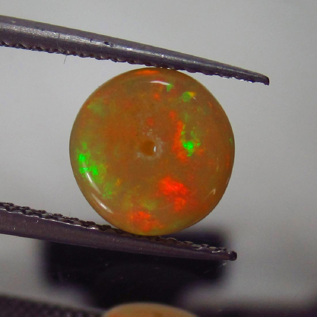 1.60 Ct Genuine Loose Drilled Multi-Color Fire 8.3 mm - 3