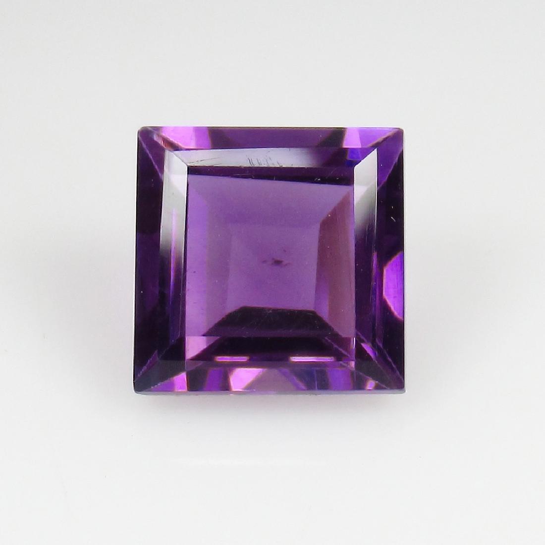 3.17 Ct Genuine Loose Deep Purple Amethyst 8.8 mm