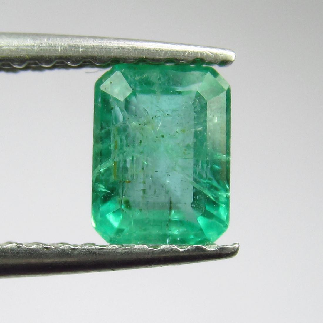 0.71 Ct Genuine Loose Zambian Emerald 5.5X4.5 mm