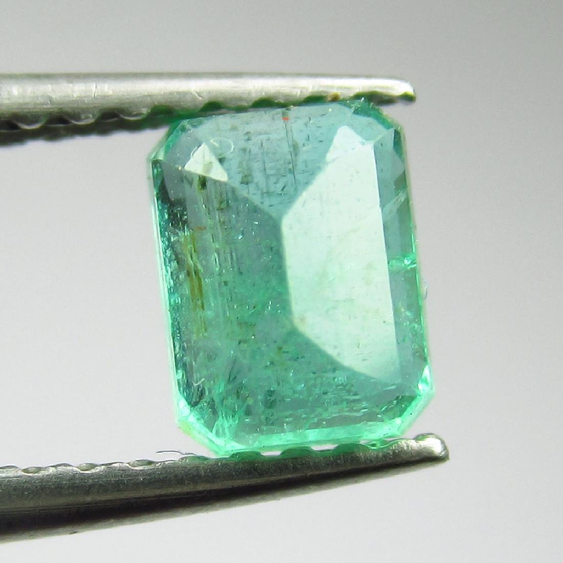 0.71 Ct Genuine Loose Zambian Emerald 5.5X4.5 mm - 2