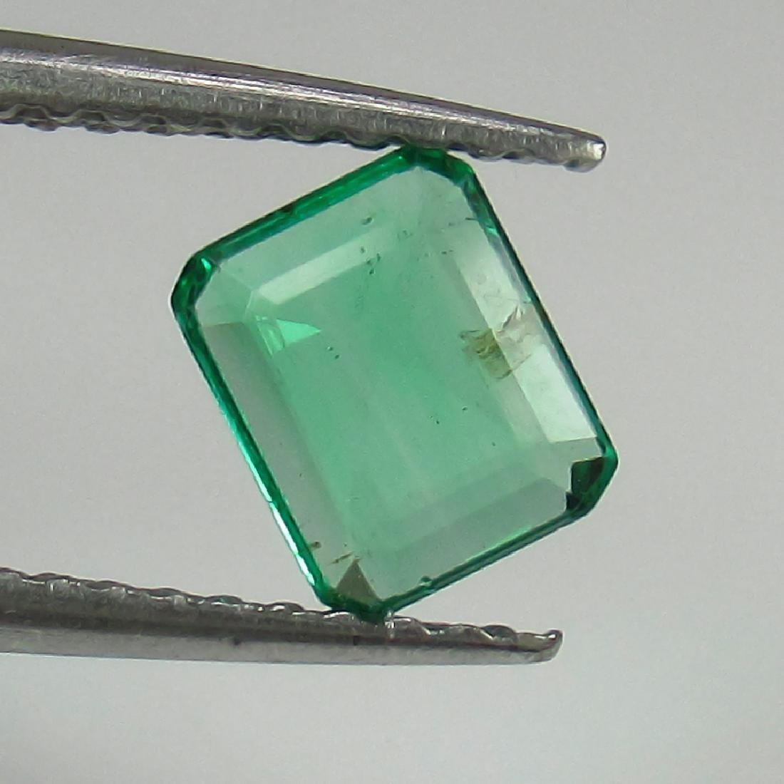 0.50 Ct Genuine Loose Zambian Emerald Excellent Octagon