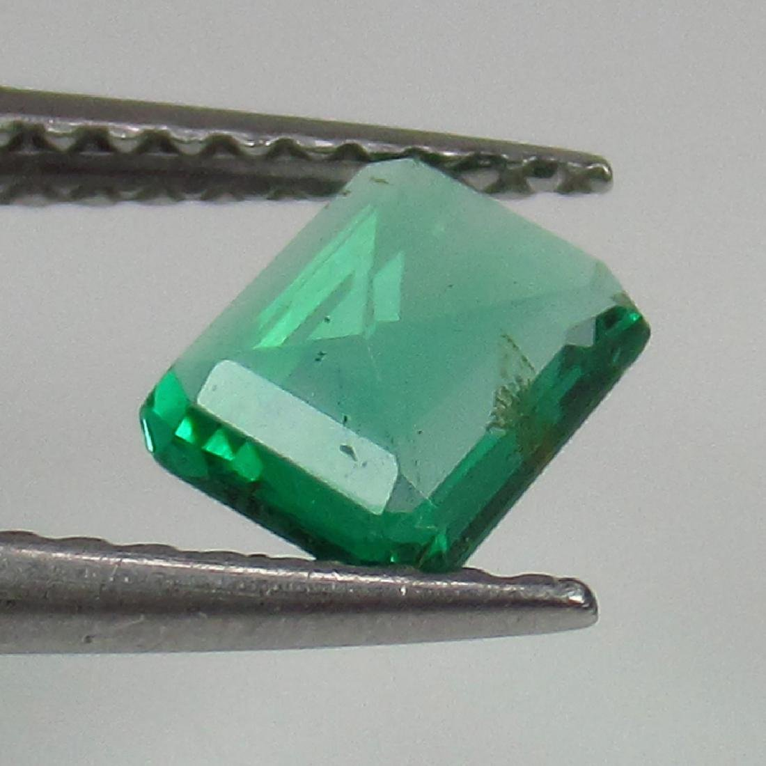 0.50 Ct Genuine Loose Zambian Emerald Excellent Octagon - 2