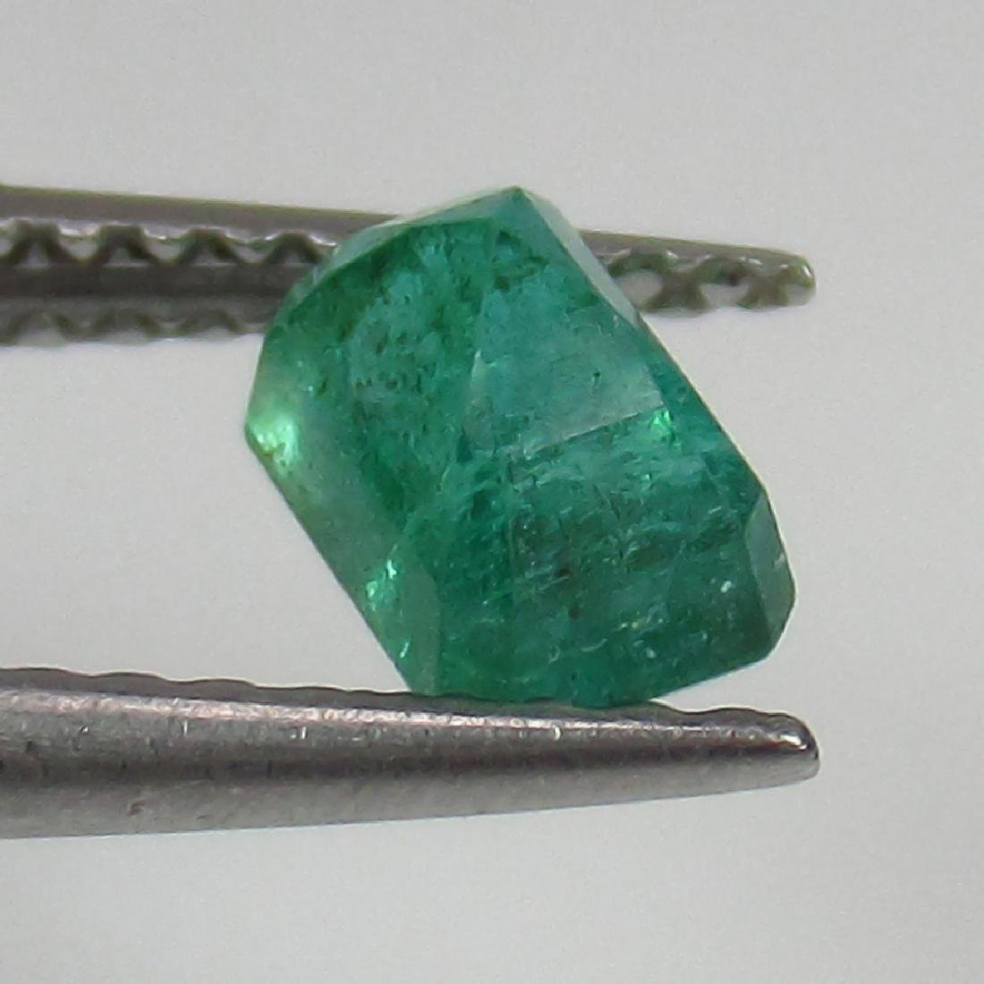 0.66 Ct Genuine Loose Zambian Emerald Excellent Octagon - 2