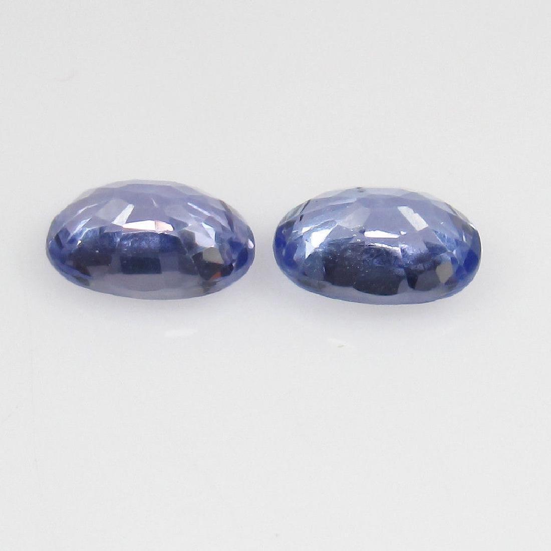 1.30 Ct Genuine Ceylon Light Blue Sapphire 6X4 mm - 2