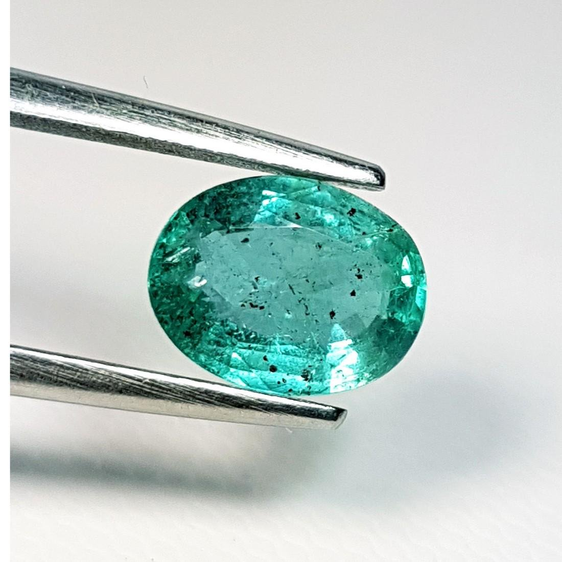 Fantastic Oval Cut Natural Emerald - 1.70 ct