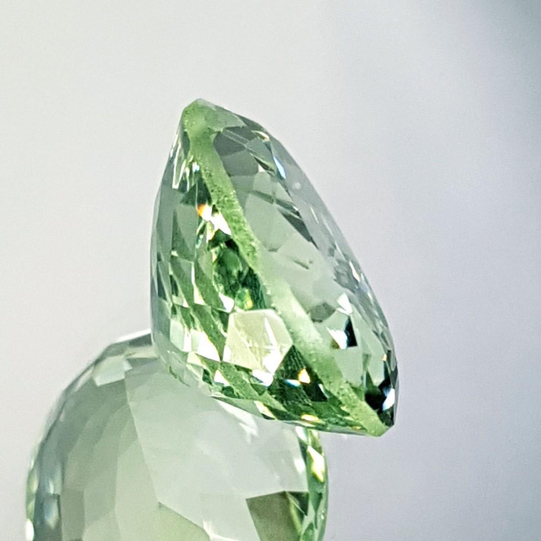 Lovely Gem Natural Green Amethyst - 10.81 ct - 2