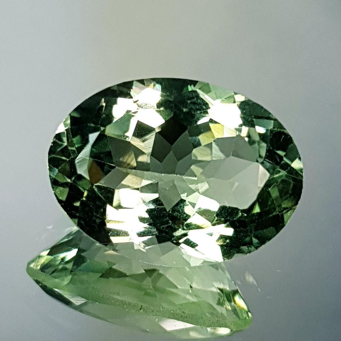 Lovely Gem Natural Green Amethyst - 10.81 ct - 3