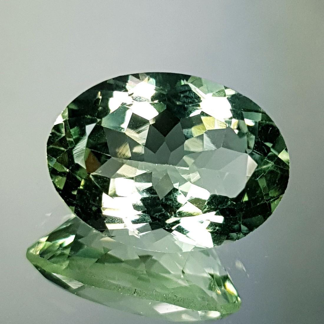 Lovely Gem Natural Green Amethyst - 10.81 ct - 4