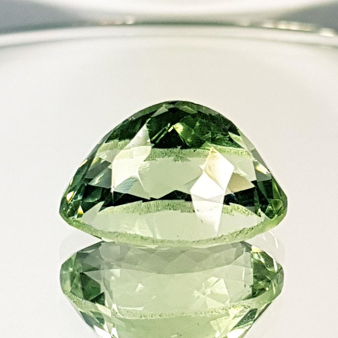 Collective Gem Natural Green Amethyst - 13.34 ct - 4
