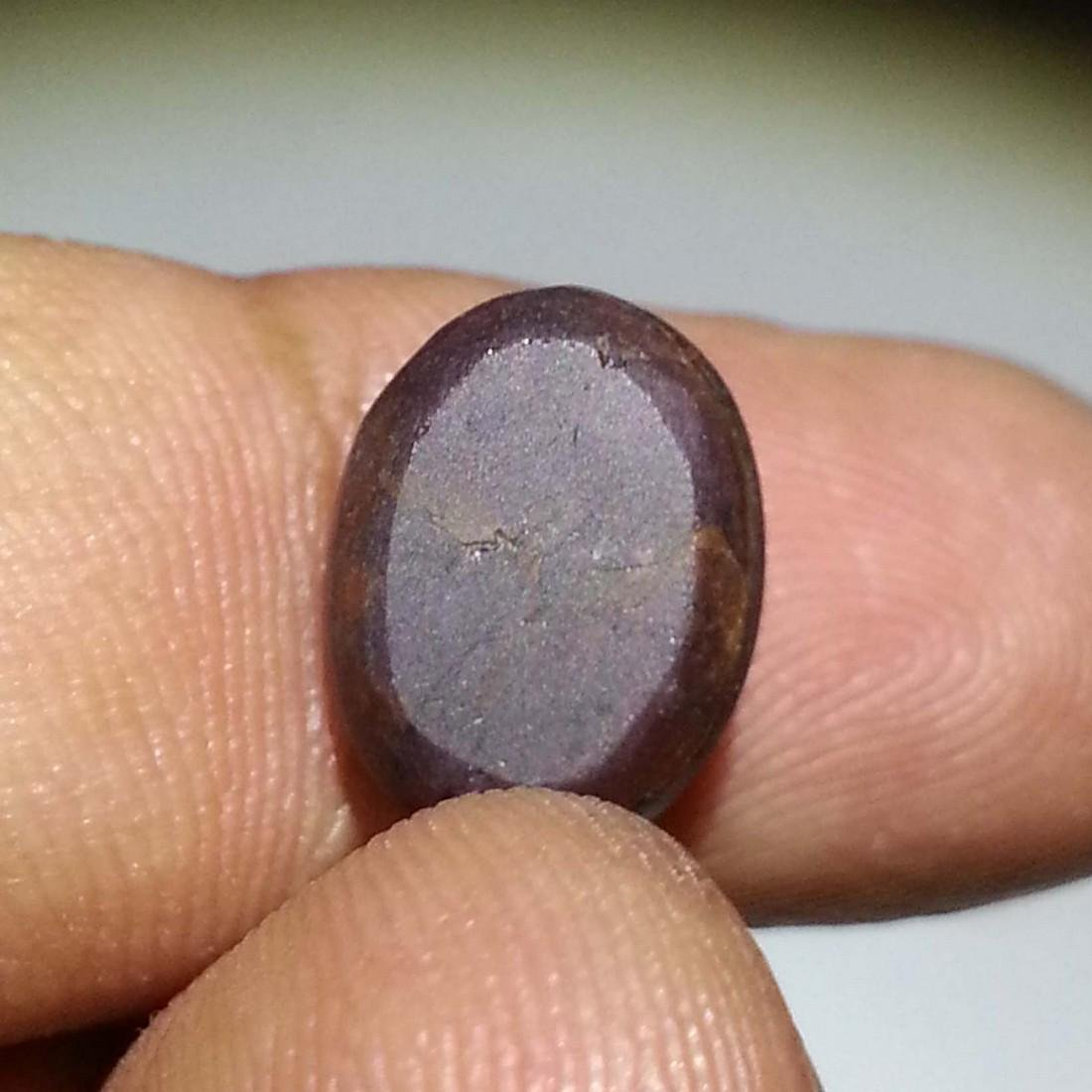 Collective Four Ray Star Garnet - 7.11 ct - 4