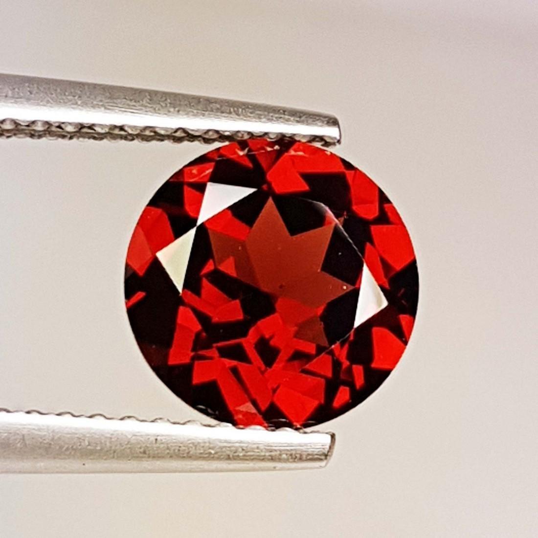 Fantastic Natural Pyrope - Almandite Red Garnet - 2.35 - 2