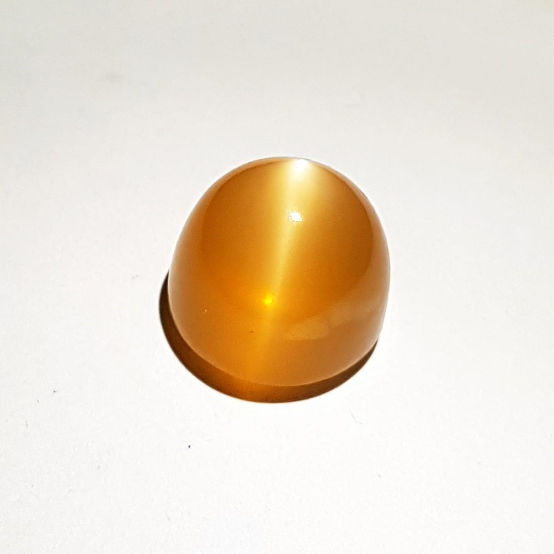 Orange Candy Moonstone Cat's Eye - 16.00 ct - 2
