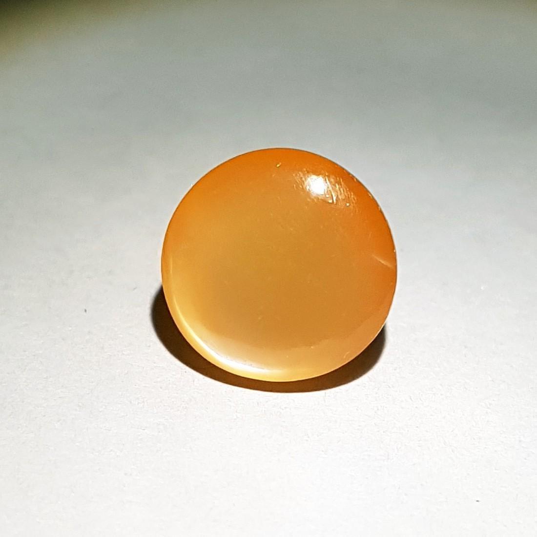 Orange Candy Moonstone Cat's Eye - 16.00 ct - 3
