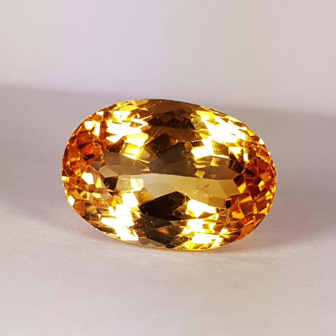 Natural Citrine - 8.75 ct