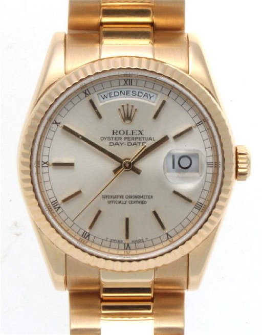 be4809b93fa Auth. Rolex Day Date 36mm Presidential 18k Yellow Gold - Sep 19 ...