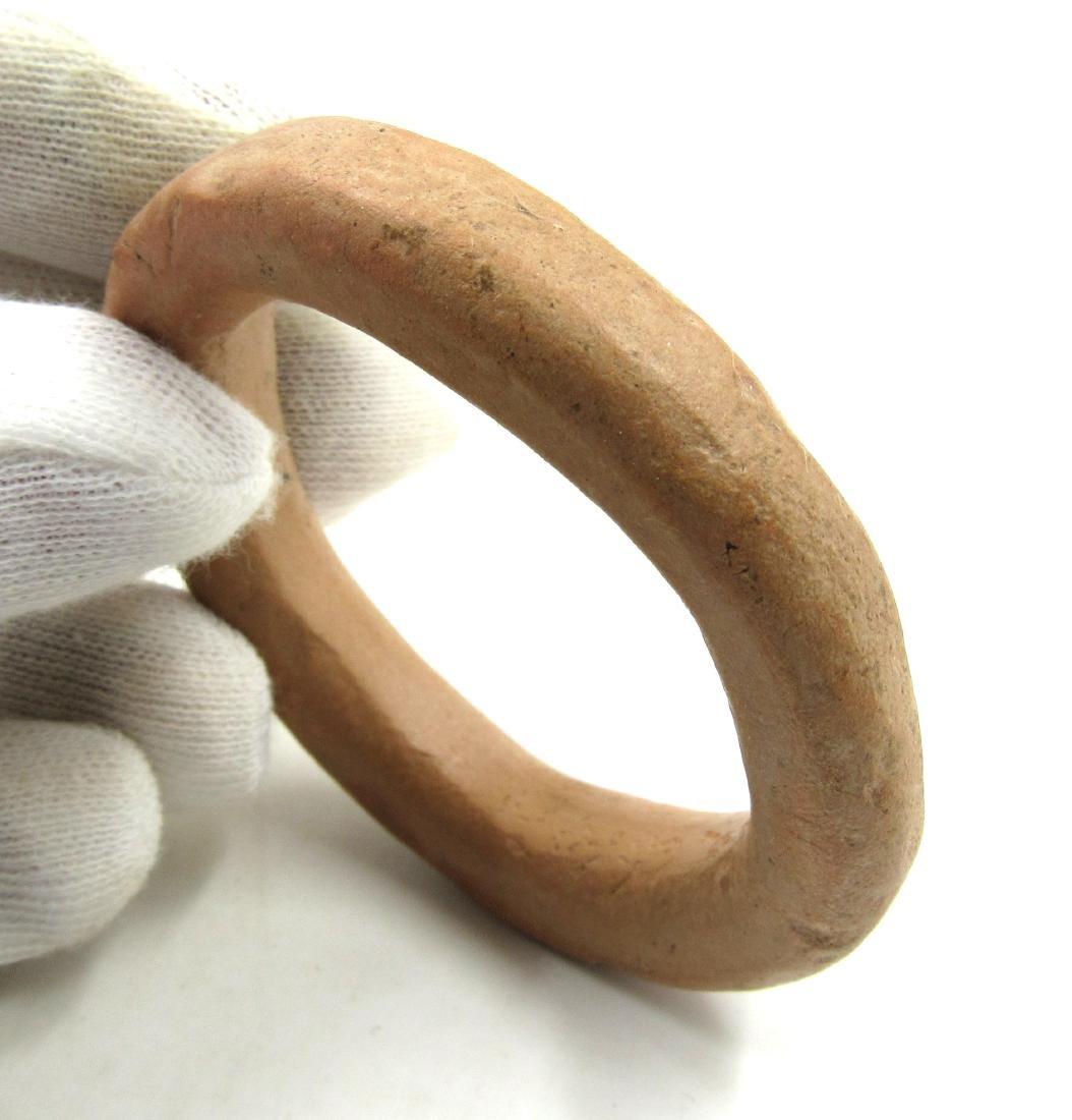 Ancient Indus Valley Terracotta Bracelet - 2