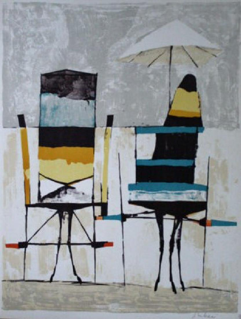 Beach Chairs by Nicola Simbari