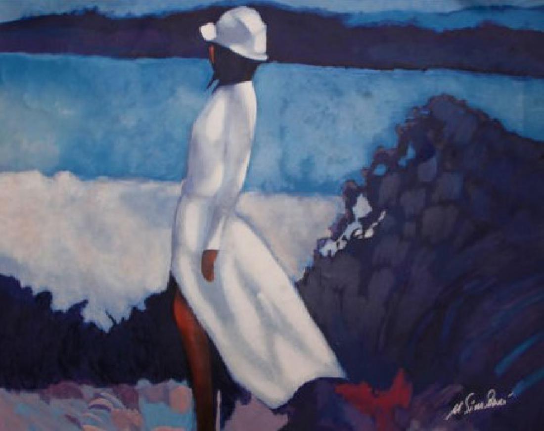 White Dress by Nicola Simbari