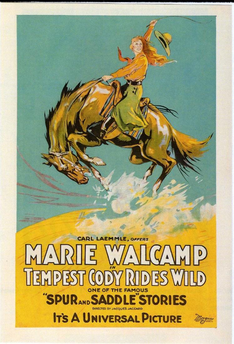Tempest Cody Rides Wild Western Movie Poster