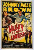 Valley of the Lawless Western Movie Poster