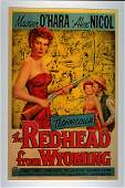 Redhead From Wyoming Western Movie Poster