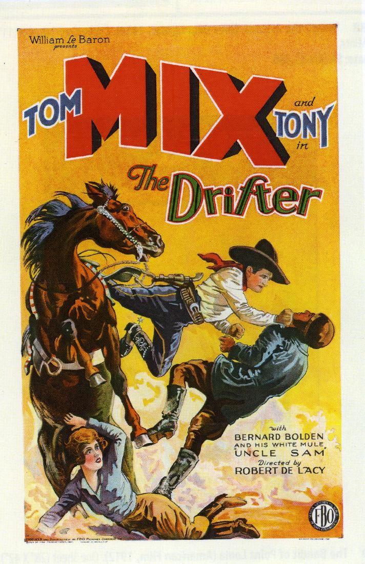 Drifter Western Movie Poster
