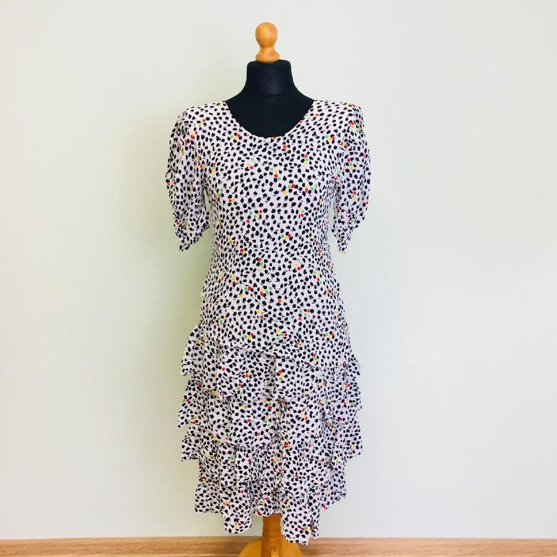 Vintage Women's Day Coctail Dress Size EUR 40 US 10