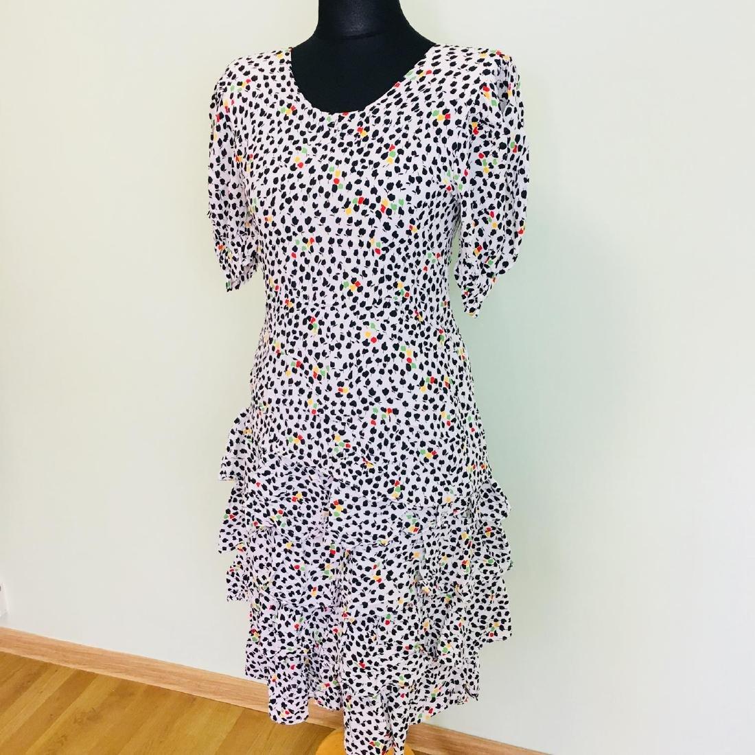 Vintage Women's Day Coctail Dress Size EUR 40 US 10 - 3