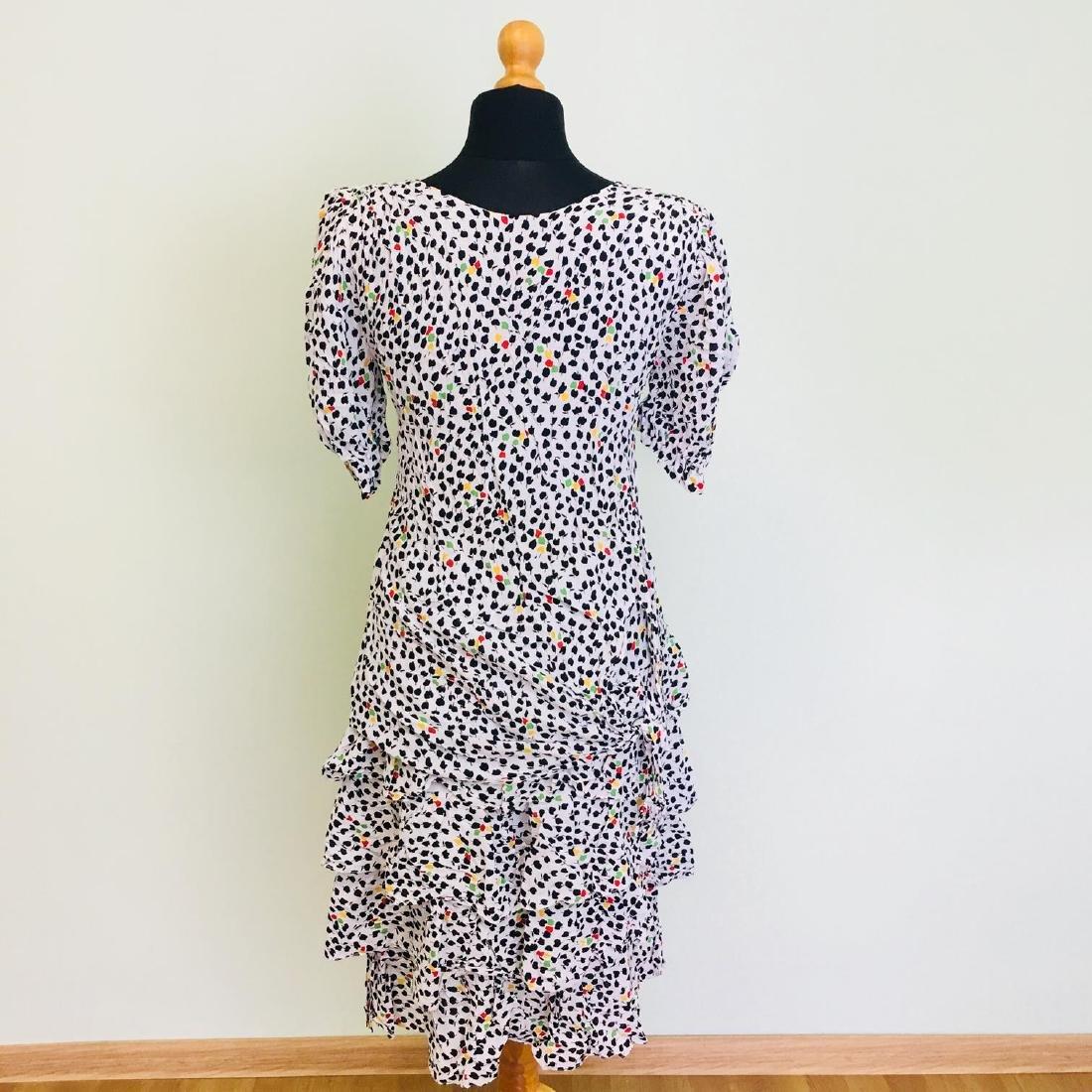 Vintage Women's Day Coctail Dress Size EUR 40 US 10 - 5