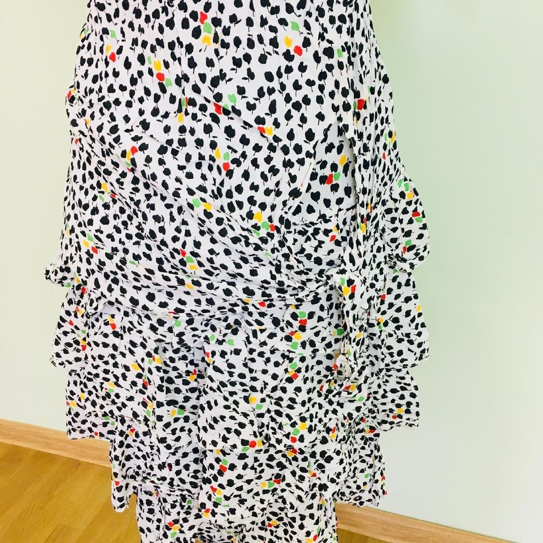 Vintage Women's Day Coctail Dress Size EUR 40 US 10 - 6