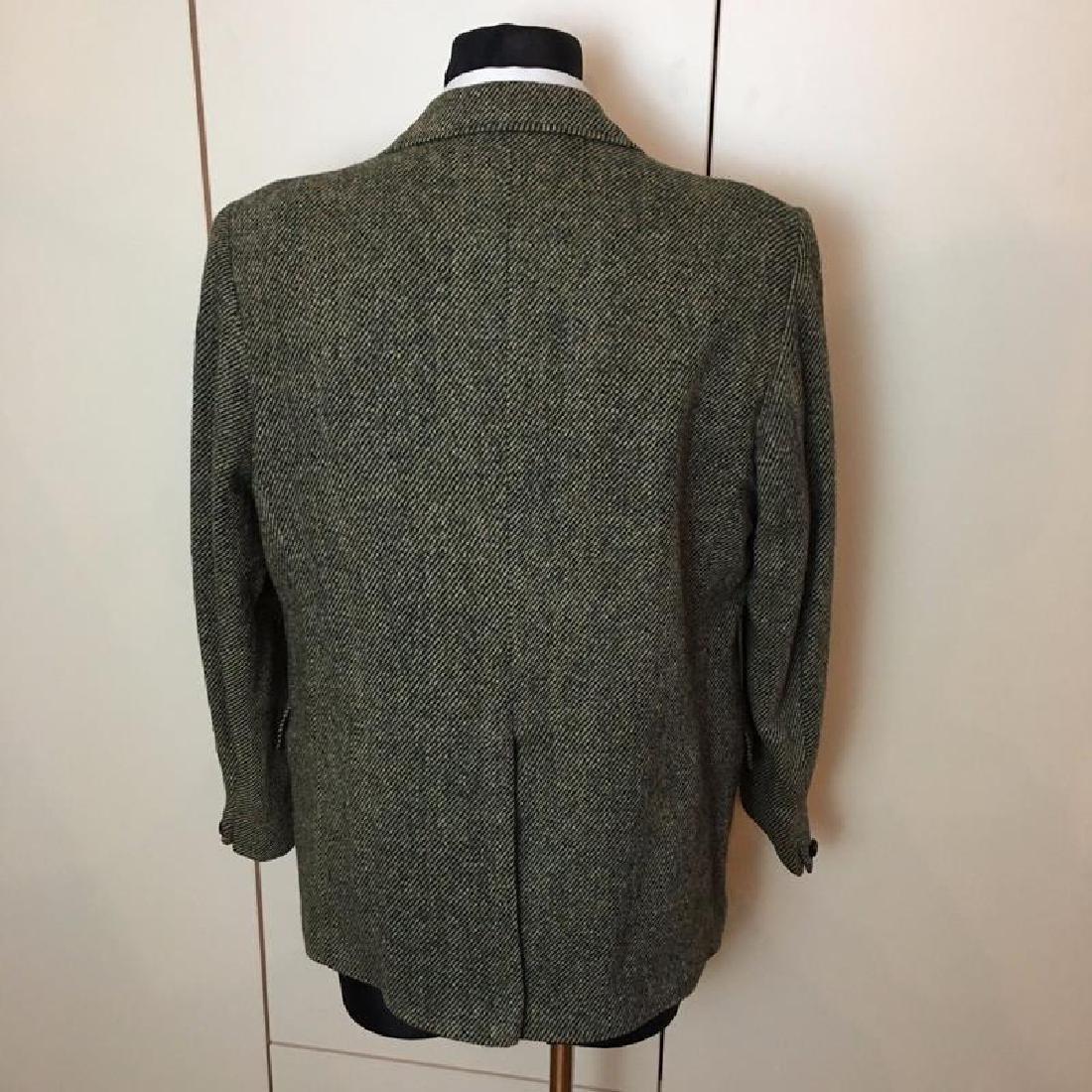 Men's Harris Tweed Handwoven Wool Blazer Jacket Size 50 - 4