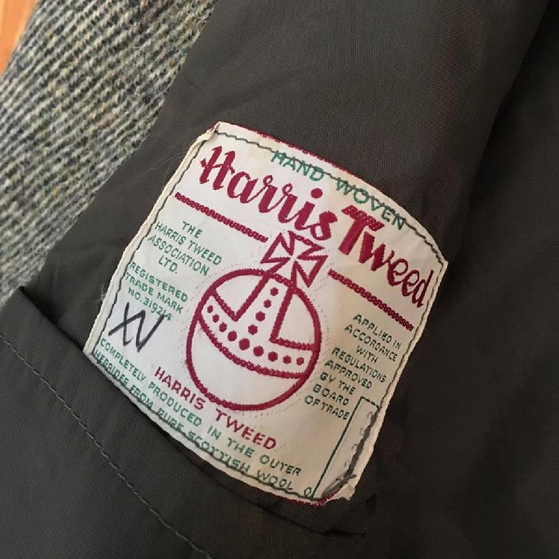 Men's Harris Tweed Handwoven Wool Blazer Jacket Size 50 - 5