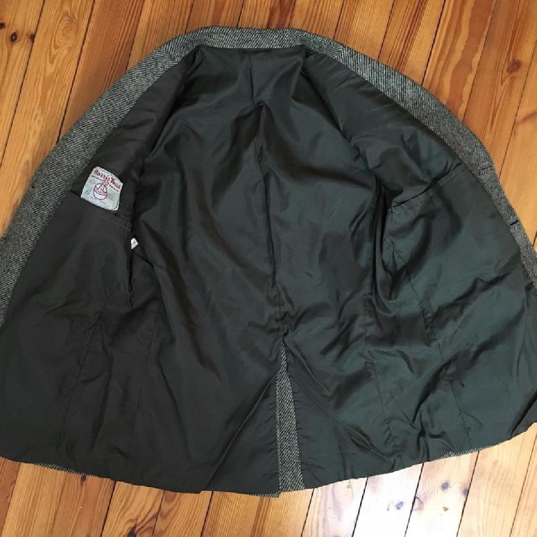 Men's Harris Tweed Handwoven Wool Blazer Jacket Size 50 - 6
