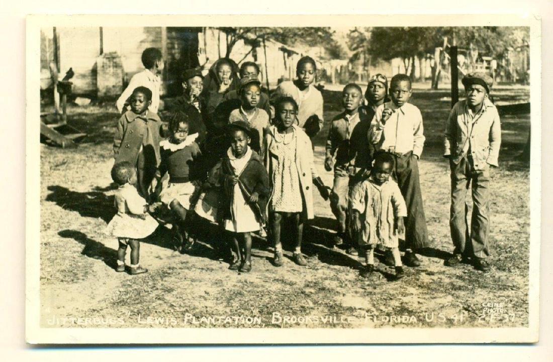ca. 1930 s LEWIS PLANTATION BROOKSVILLE FLORIDA BLACK