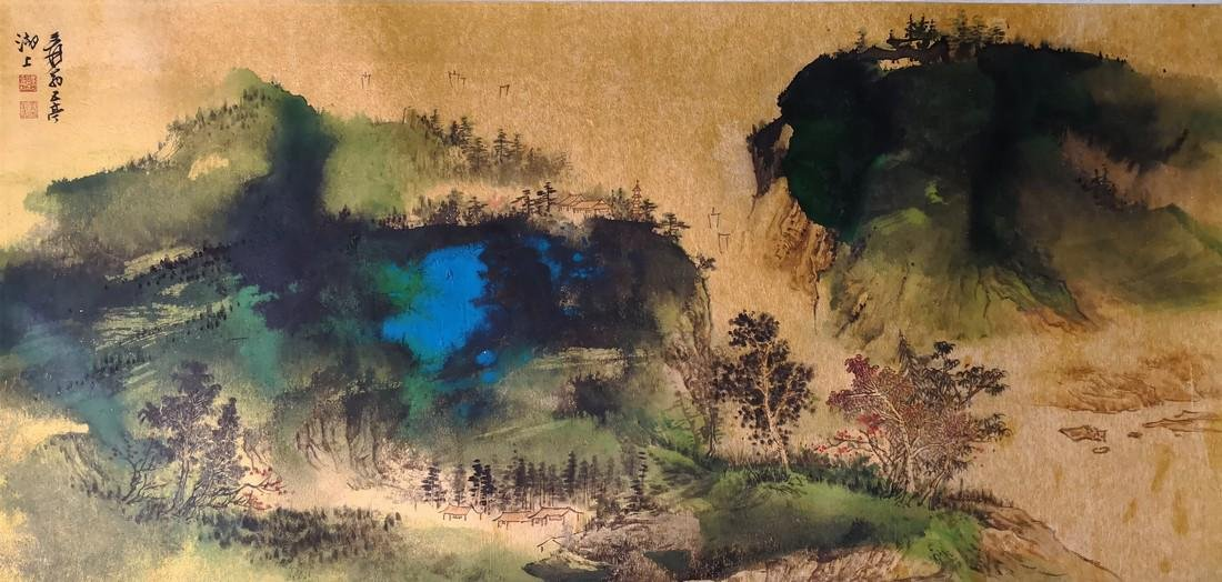 Chinese  Painting on NIJIN paper