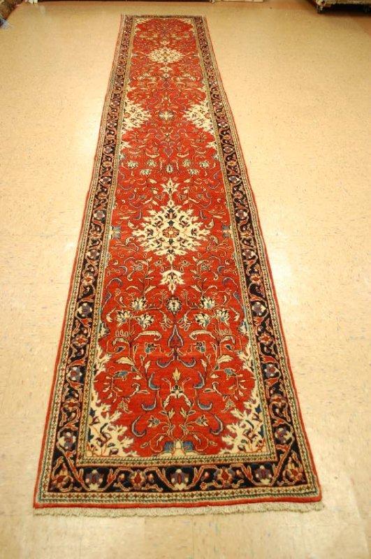 Antique Persian Sarouk Rug 2.9x15