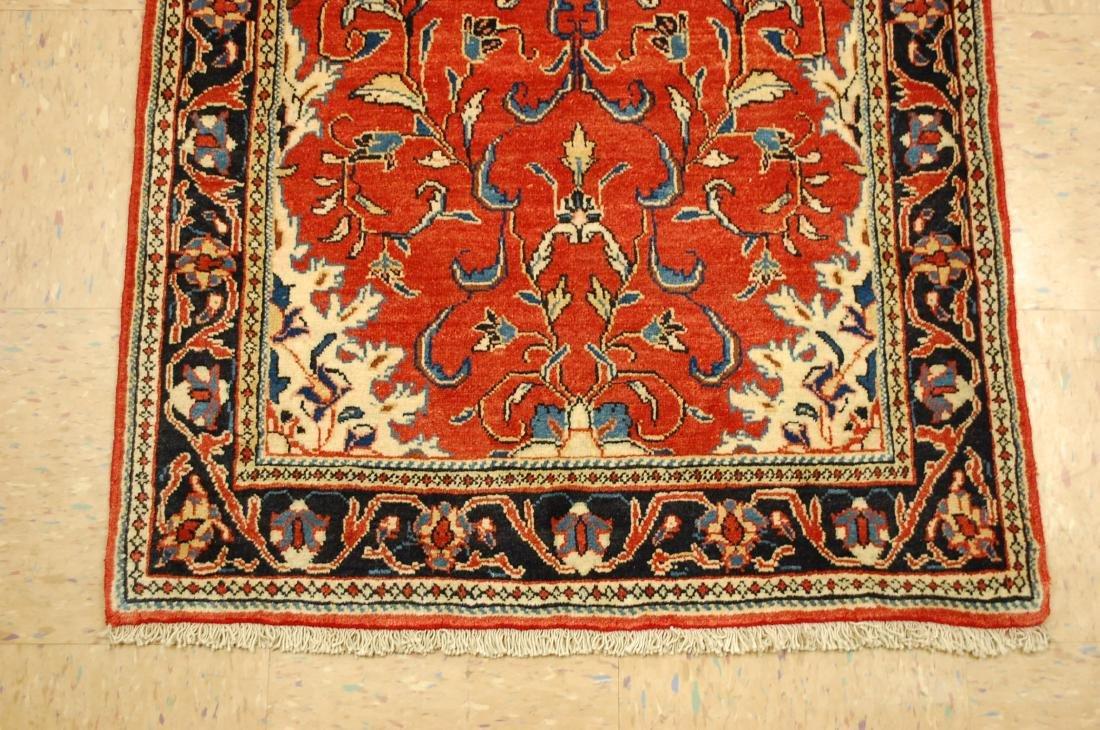 Antique Persian Sarouk Rug 2.9x15 - 2