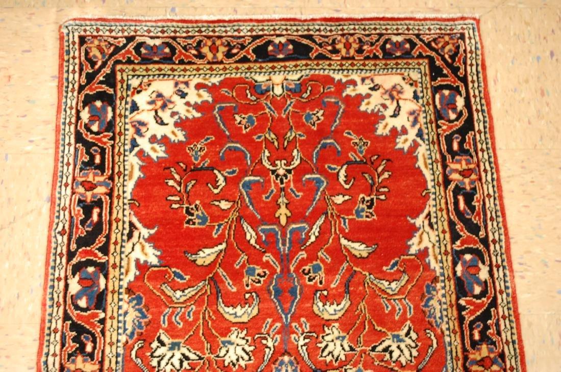Antique Persian Sarouk Rug 2.9x15 - 3