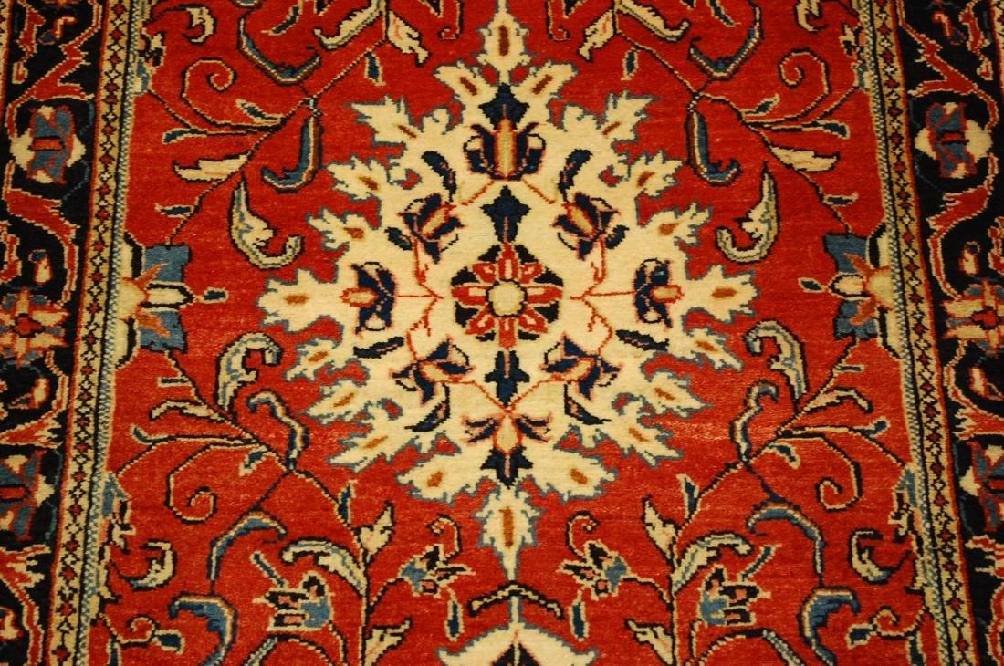 Antique Persian Sarouk Rug 2.9x15 - 5